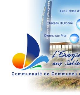 Site web Communauté de communes des Olonnes