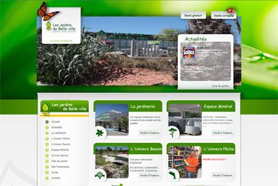 Site web Jardinerie Vendée