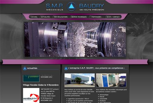 Site web SMP BAUDRY