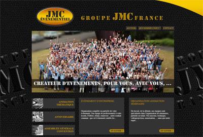 Site web JMC Evenementiel