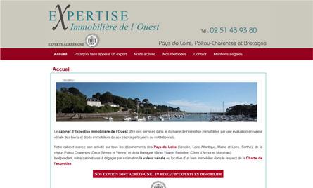 Site web Expertise Immobilière