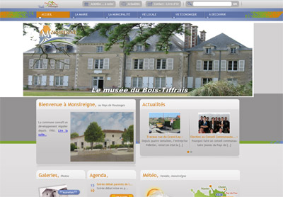 Site web Monsireigne
